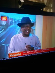 AZAIKI LIBRARY FOUNDER ADVOCATES IMPROVED READING CULTURE FOR LEADERSHIP ON AIT KAAKAKI LIVE